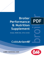 Cobbavian48 Broiler Performance and Nutrition Supplement Emea