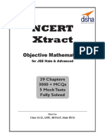 NCERT Xtract - Objective Mathem - Disha Experts