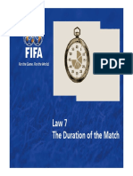 Law 7 the Duration of the Match en 47401