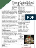 10th November 2010 Newsletter Web