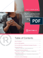 RhythmOne Influencer Marketing Report - FY2018