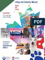 WSAVA CVMA 2019 Congress Branding and Industry Manual Online Version