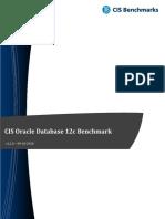 CIS Oracle Database 12c Benchmark v2.1.0