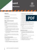 Safety Alert - Conveyors