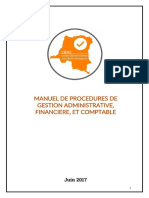 CERC Administrative and Accounting Management Policies and Procedures FRENCH