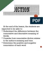 1st Quarter Lesson 3 Diction