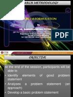 Problem Formulation 16032015
