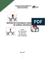 Contenidos de Química Orgánica I_iii-2016
