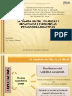 LA CHAMBA JUVENIL:DINAMICAS Y PROYECCIONES