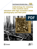 Sampling Methodology for Studying Boreal Post-fire Residual Stand Structure With High Resolution Aerial Photography and Field Plots
