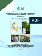 Eksplorasi Pengetahuan Lokal Etnomedisin Dan Tumbuhan Obat Berbasis Komunitas Di Indonesia Provinsi Sulawesi Tengah