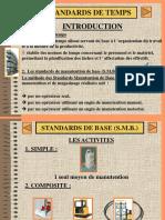 Standards de Manutention de Base