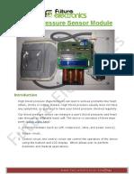 Blood Pressure Sensor User Guide and Arduino Code