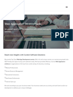 Techversant CA Web Application Development