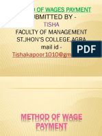 Wages System New