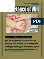 Easier to Make a Will Online