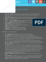 CHEAT SHEET 42 of the Most Useful Raspberry Pi Commands