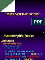 Lesson # 12 - Metamorphic Rock Ppt