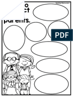 How to Respect Your Parents Worksheets