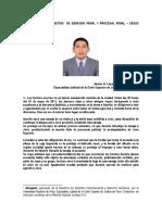 Preguntas y Respuestas de Derecho Penal y Procesal Penal - Casos Desarrollados. Por. Dr. Janner  A. Lopez  Avendaño.