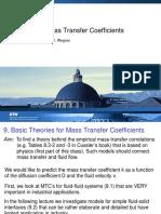 Chapter 9 Mass Transfer
