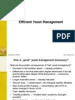 Yeast Best Practices R1440 Deniz Bilge