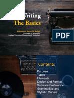 CV Writing MHR