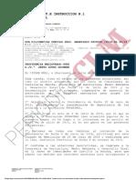 Providencia que autoriza el sacrificio de las vacas de Navalpino (Ciudad Real)