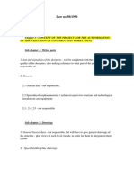 Law No 50 Requierments