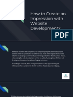 How to Create an Impression With Website Development