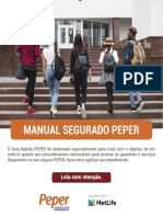 Manual Segurado Peper Metlife