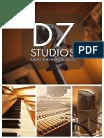 D7Studios Brochure July 2019