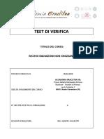 Test Di Verifica Rni