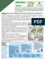 PROPROSTA DE REDAÇÃO - TEMA 05