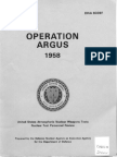 Operation Argus Nuclear Tests in Atmosphere 1958 - DNA 6039F - Operation ARGUS - 1958