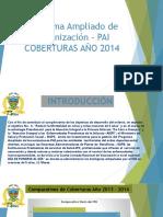 Programa Ampliado de Inmunización – PAI - PRESENTANCION
