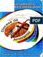2 Preparação Para a Primeira Eucaristia - 2º Ano Material Da Diocese de Amargosa