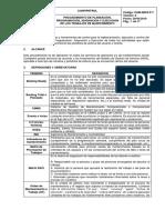 O&M-IMC6-P-7 Procedimiento de Planeación, Programación, Asignación y Ejecución Rev. 0