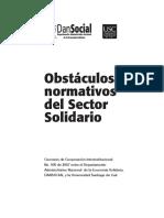 Obstaculos Normativos Del Sector Solidario