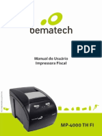Manual do Usuario MP-4000 TH FI