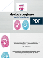 IDEOLOGÍA DE GENERO