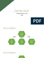 Spring Cloud Architecture
