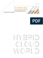 12 Requirements for a Modern Data Architecture in a Hybrid Cloud World