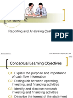 12 Reporting and Analyzing Cash Flows