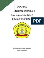 Laporan Kadar Air Sampel Nasi - Copy