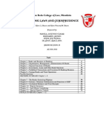 Banking Laws and Jurisprudence Reviewer