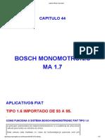 Bosch Monomotronic - Tipo 1.6