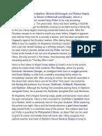 Summary Harry Potter 1