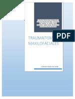 TRAUMATISMOS MAXILOFACIALES