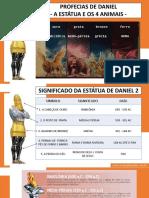 Profecias de Daniel a Estatua e Os 4 Animais